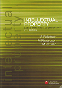 Cover of Intellectual Property: Cases, Materials and Commentary