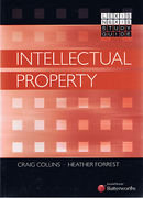 Cover of Intellectual Property: Study Guide