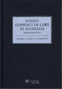 Cover of Nygh's Conflict of Laws in Australia