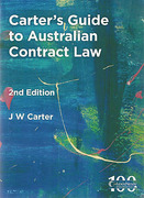 Cover of Carter's Guide to Australian Contract Law