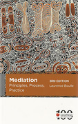 Cover of Mediation: Principles, Process, Practice