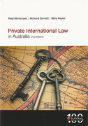 Cover of Private International Law in Australia 2nd ed
