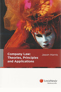 Cover of Company Law: Theories, Principles and Applications