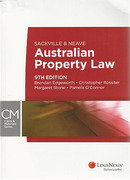 Cover of Sackville and Neave Australian Property Law 9th ed