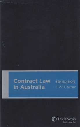 australian contract law should be codified Established contract law details how contracts should be drafted and clear guidelines are in place to ensure a contract is balanced for all contracting parties in any case, the australian judicial system is considered one of the fairest and the best in the world.
