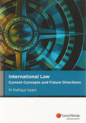Cover of International Law: Current Concepts and Future Directions
