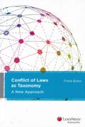 Cover of Conflict of Laws as Taxonomy: A New Approach