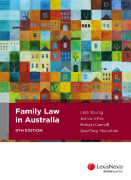 Cover of Family Law in Australia