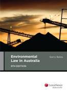 Cover of Environmental Law in Australia