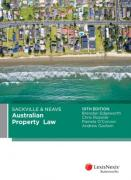 Cover of Sackville and Neave Australian Property Law