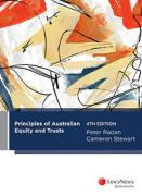 Cover of Principles of Australian Equity and Trusts