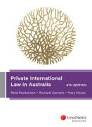 Cover of Private International Law in Australia