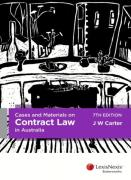 Cover of Cases and Materials on Contract Law in Australia