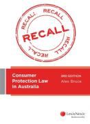 Cover of Consumer Protection Law in Australia