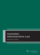 Cover of Australian Administrative Law