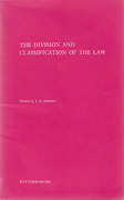 Cover of The Division and Classification of the Law