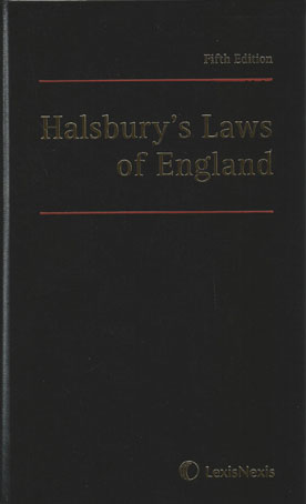 Wildy & Sons Ltd — The World's Legal Bookshop : Halsbury's Laws of ...