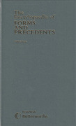 Cover of Encyclopaedia of Forms & Precedents 5th ed to 1992