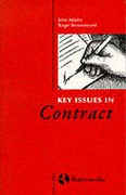 Cover of Key Issues in Contract