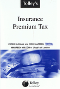 Cover of Tolley's Insurance Premium Tax
