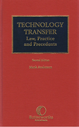 Cover of Technology Transfer: Law, Practice and Precedents (Old Jacket)