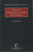Cover of Jackson's Matrimonial Finance and Taxation