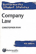 Cover of Butterworths Student Statutes: Company Law