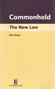 Cover of Commonhold: The New Law