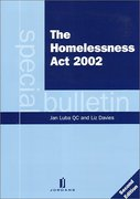 Cover of The Homelessness Act 2002
