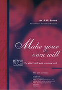 Cover of Make Your Own Will: The Plain English Guide to Making a Will