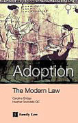 Cover of Adoption: The Modern Law