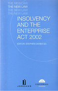 Cover of Insolvency and the Enterprise Act 2002: The New Law