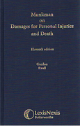 Cover of Munkman on Damages for Personal Injuries and Death