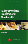Cover of Tolley's Pensions Transfers and Winding-up (Old Jacket)