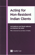 Cover of Acting for Non-Resident Indian Clients