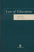 Cover of Law of Education