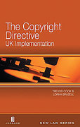 Cover of Copyright Directive UK Implementation