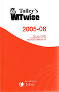 Cover of Tolley's VATwise 2005 - 2006