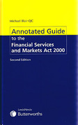 Cover of Annotated Guide to The Financial Services and Markets Act 2000