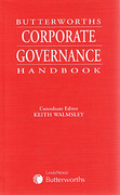 Cover of Butterworths Corporate Governance Handbook