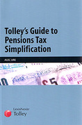 Cover of Tolley's Guide to Pensions Tax Simplification