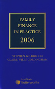 Cover of Family Finance in Practice 2006