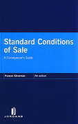 Cover of Standard Conditions of Sale: A Conveyancer's Guide 7th ed