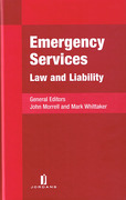 Cover of Emergency Services: Law and Liability