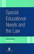 Cover of Special Educational Needs and the Law