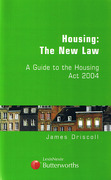 Cover of Housing: The New Law: A Practical Guide to the Housing Act 2004