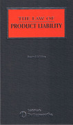 Cover of Law of Product Liability