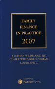 Cover of Family Finance in Practice 2007