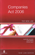 Cover of The Companies Act 2006: The New Law