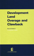 Cover of Development Land Overage and Clawback
